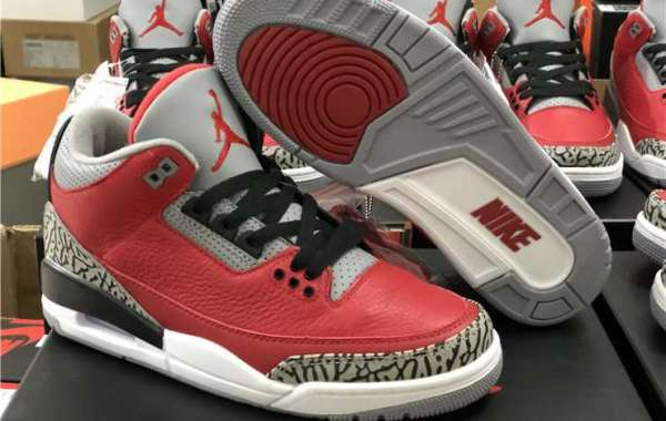 "2020 Air Jordan 3 Retro SE ""Red Cement"" CK5692-600 For Discount Online"