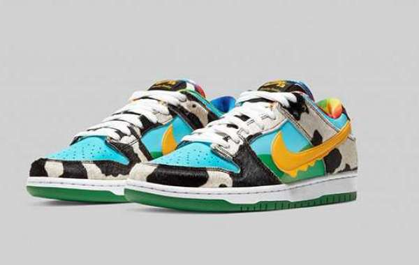 "2020 Ben & Jerry's x Nike SB Dunk Low ""Chunky Dunky"" Arrive On May 26th"