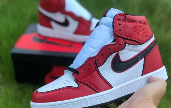 "Men's Air Jordan 1 Retro High OG ""Metallic Red"" For Cheap 555088-103"