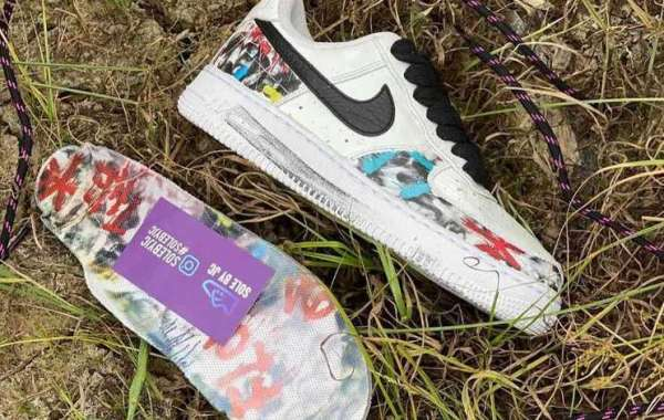 Fashionable PEACEMINUSONE x Nike Air Force 1 Para-noise