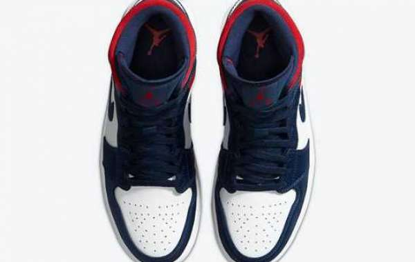 852542-104 Air Jordan 1 Mid SE USA On Sale