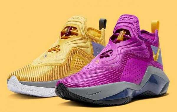 CK6047-500 Nike LeBron Soldier 14 Lakers Releasing Soon