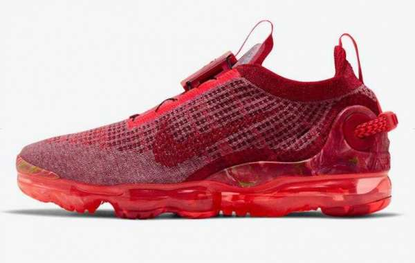 Nike Air VaporMax 2020 Released the Team Red Colorway Now