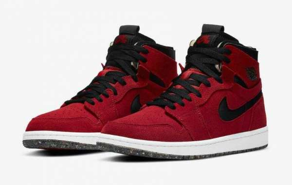 2020 Air Jordan 1 High Zoom Red Suede Releasing Soon