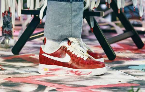 """New Release PEACEMINUSONE x Nike AF1 """"Para-Noise 2.0"""" Red"""