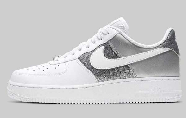 Nike Air Force 1 Low 07 White Metallic Silver to Release for Black Friday