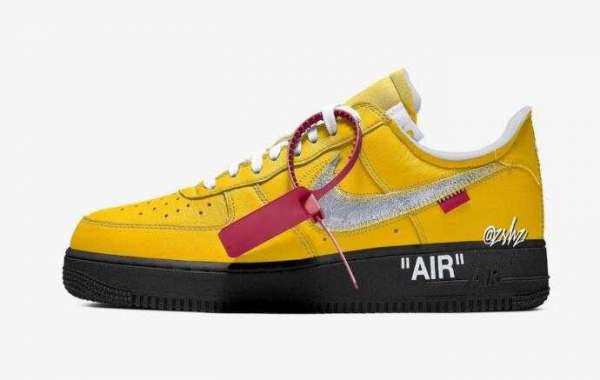 Off-White x Nike Air Force 1 Low University Gold Coming in 2021
