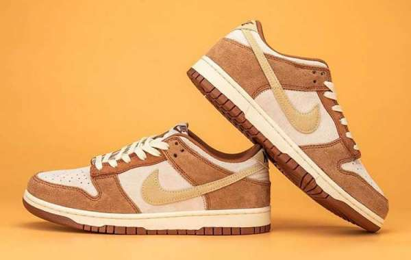 """Nike Dunk Low PRM """"Medium Curry"""" DD1390-100 For Sale Online"""