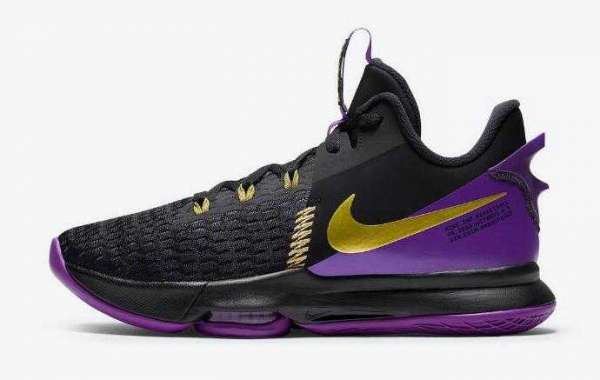 2021 Latest Nike LeBron Witness 5 Lakers is Best Basketball Shoes