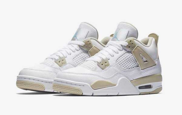 "Discount Price Air Jordan 4 Retro ""Linen"" Hot Sale 487724-118"