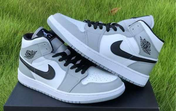 How About Air Jordan 1 Mid Light Smoke Grey in your wardrobe?