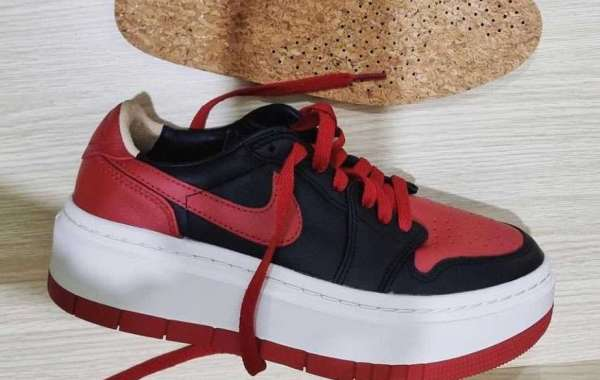"""Latest 2022 Air Jordan 1 LV8D Elevated """"Bred"""" Basketball Shoes"""