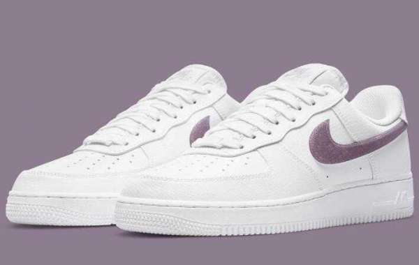 Latest Nike Air Force 1 Low White Coming With Glitter Swoosh